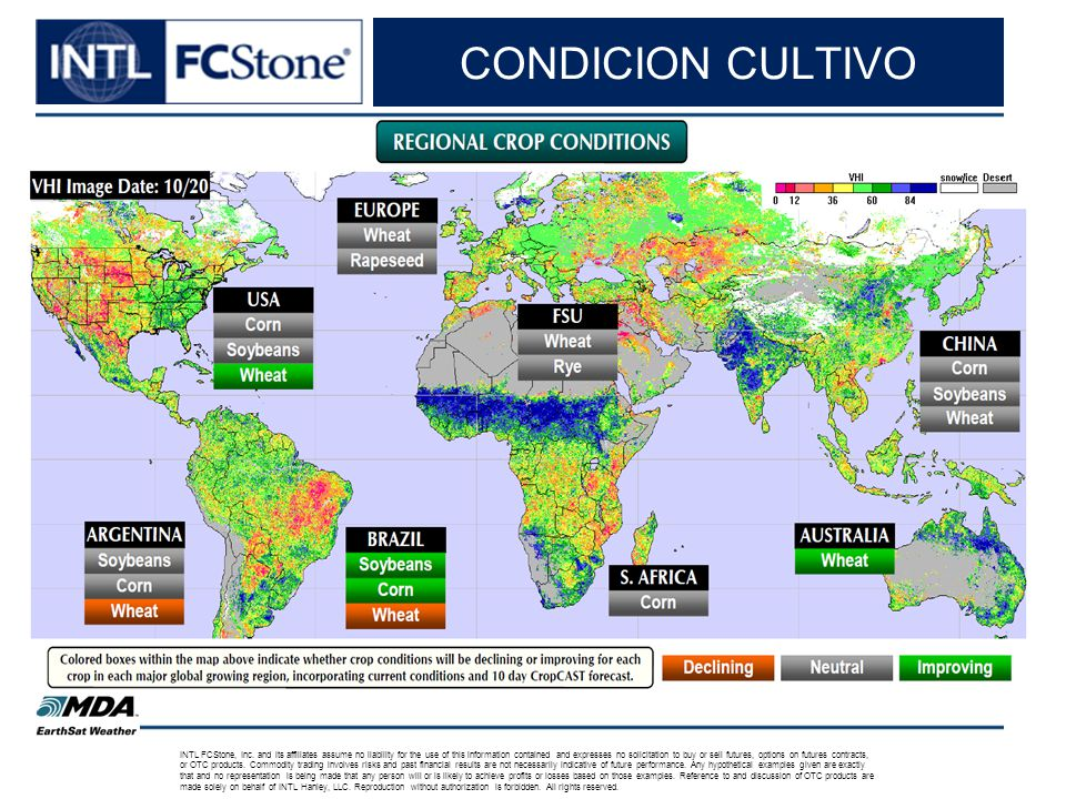 CONDICION CULTIVO INTL FCStone, Inc.