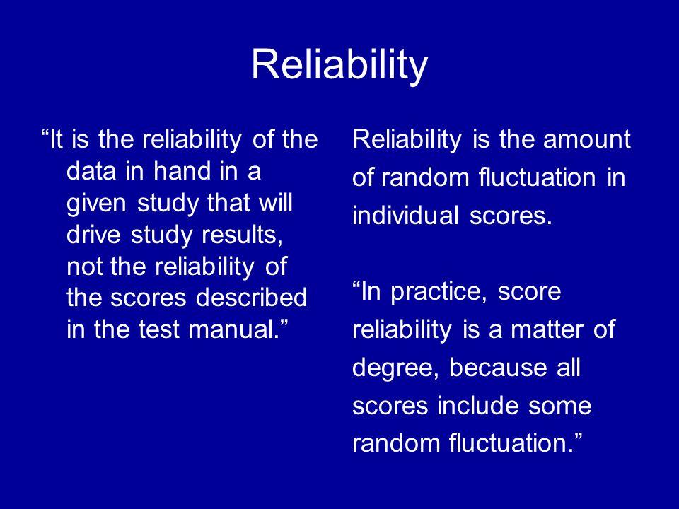 Patterns of Association Evidence of Validity
