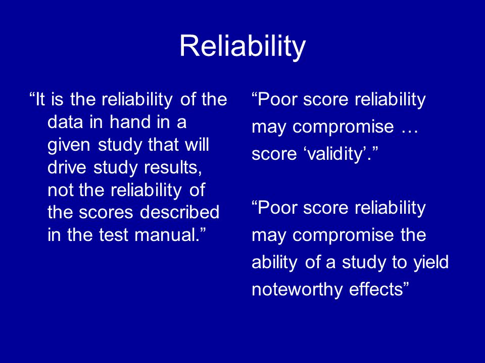 Analyzing for Reliability in SPSS 1.Enter survey data.