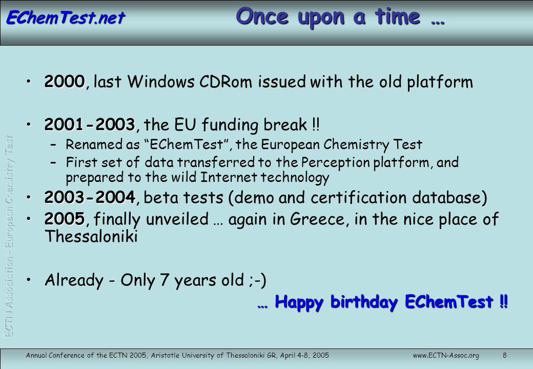 EChemTest.net … EChemTest today !!