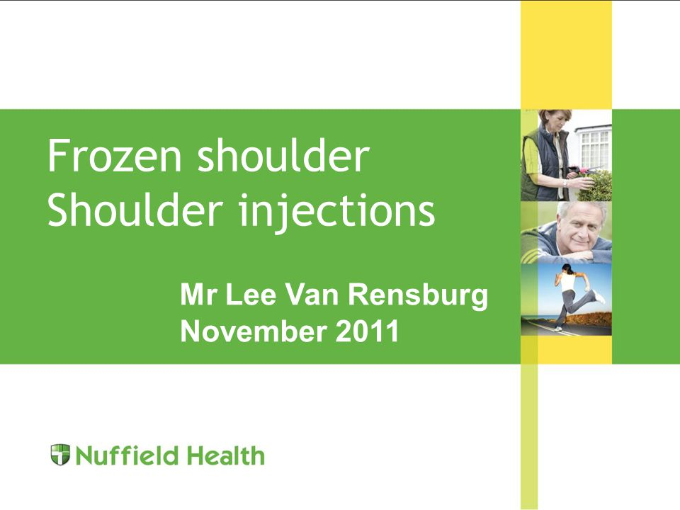 Pain top of shoulder Pain worst arm abducted 90° Unable to lie on it Point tender ACJ Scarfes crossed adduction Reassurance Analgesia Steroid injection Arthroscopic excision