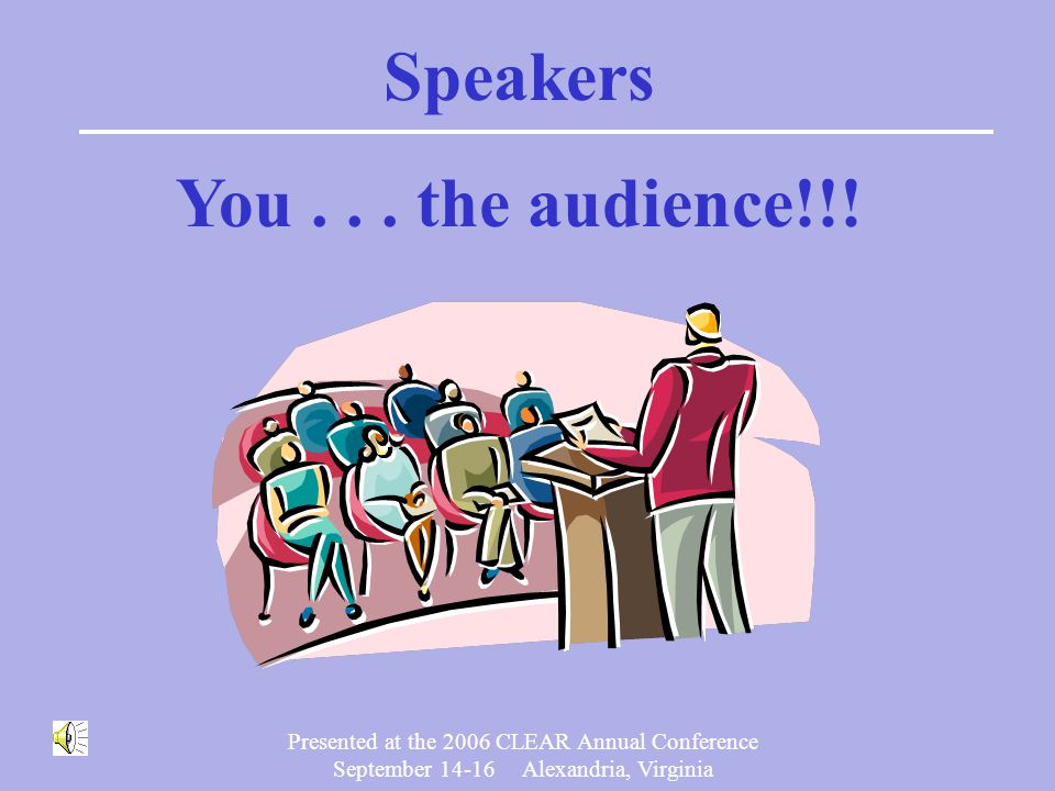 Presented at the 2006 CLEAR Annual Conference September 14-16 Alexandria, Virginia Should my Board or program sponsor allow candidates to review test results including test questions?