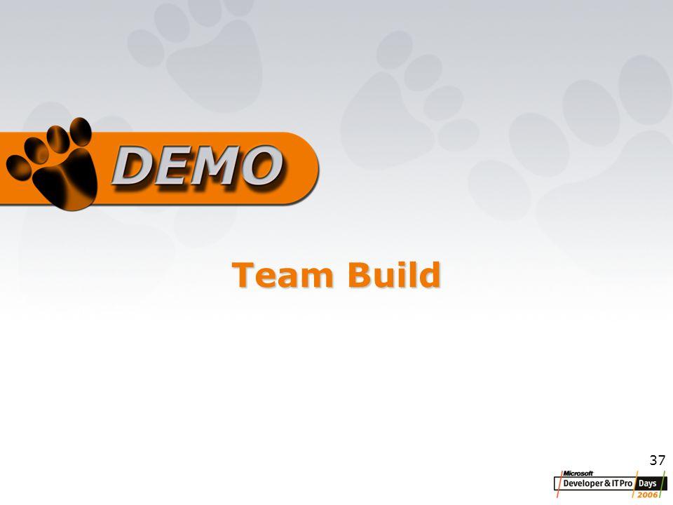 37 Team Build