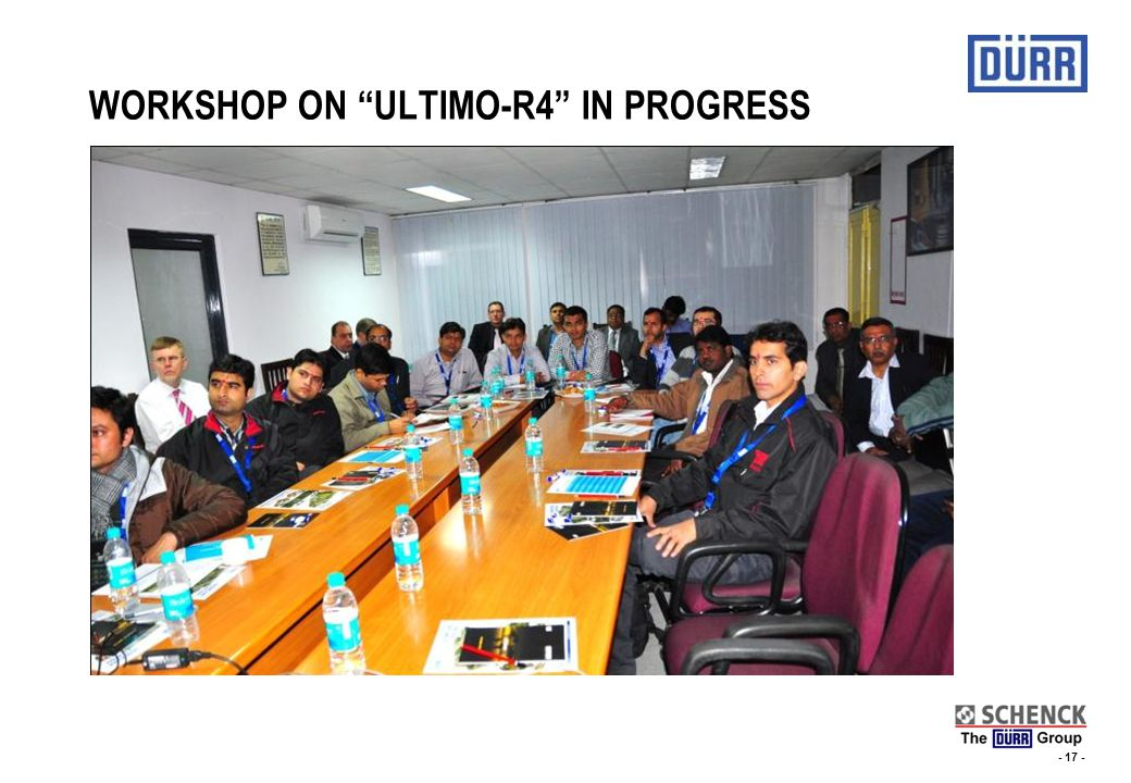 - 16 - LAUNCHING OF ULTIMO-R4 AT SCHENCK ROTEC, NOIDA