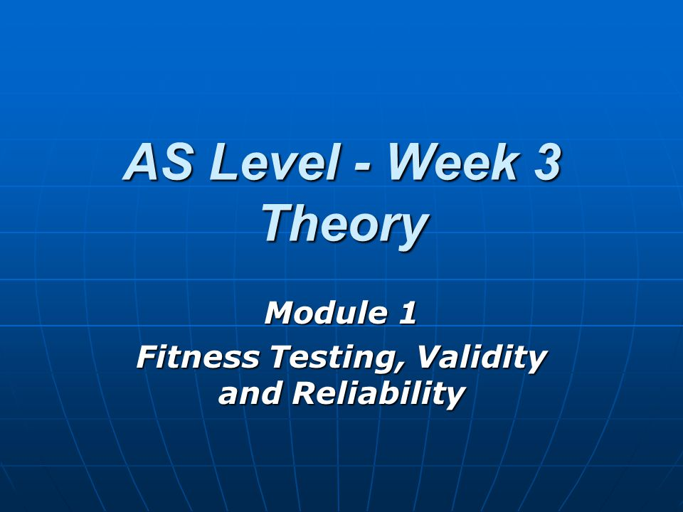 Aims Discuss why we fitness test.Discuss why we fitness test.