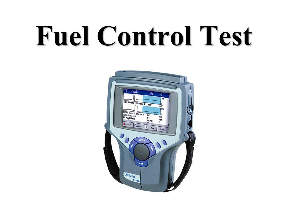 Fuel Control Test