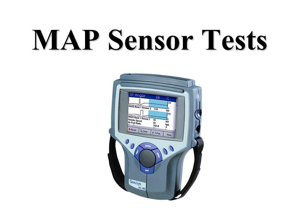 MAP Sensor Tests