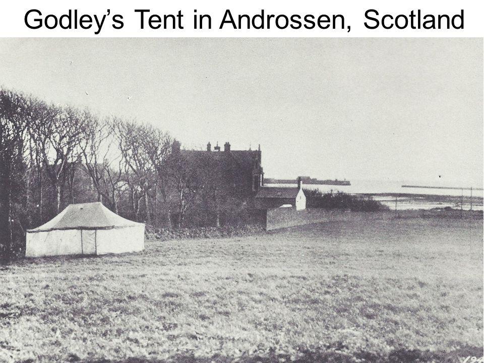 Godleys Tent in Androssen, Scotland