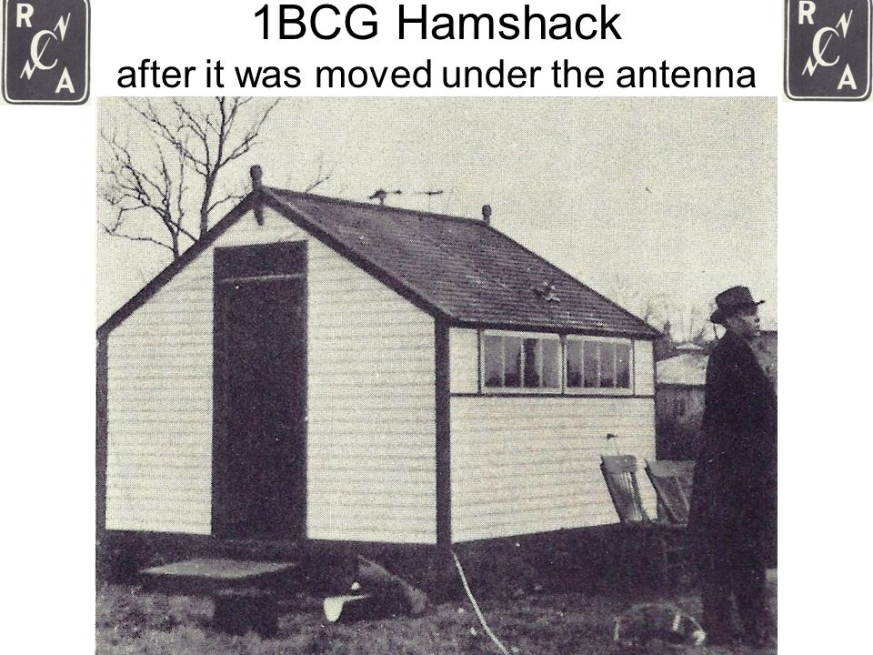 1BCG Hamshack after it was moved under the antenna