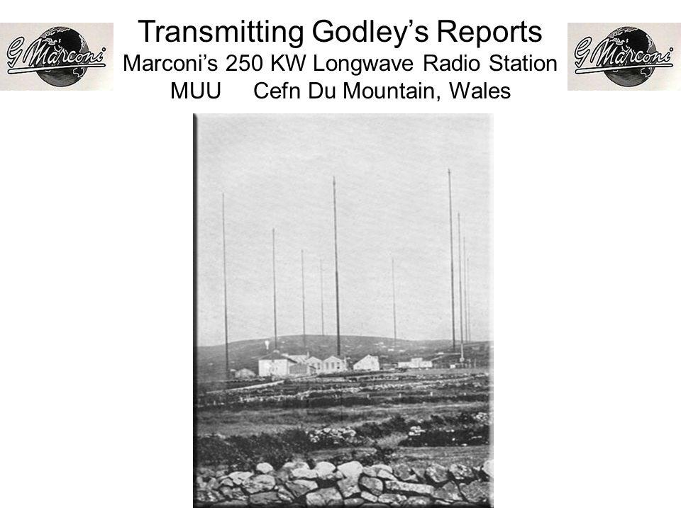 Transmitting Godleys Reports Marconis 250 KW Longwave Radio Station MUU Cefn Du Mountain, Wales