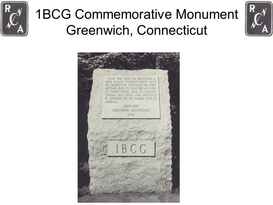 1BCG Commemorative Monument Greenwich, Connecticut