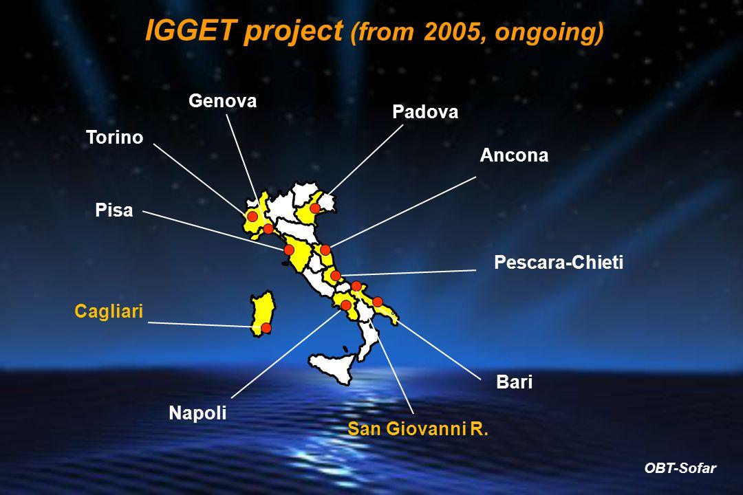 Cagliari Pisa Genova Padova Ancona Pescara-Chieti Bari San Giovanni R.