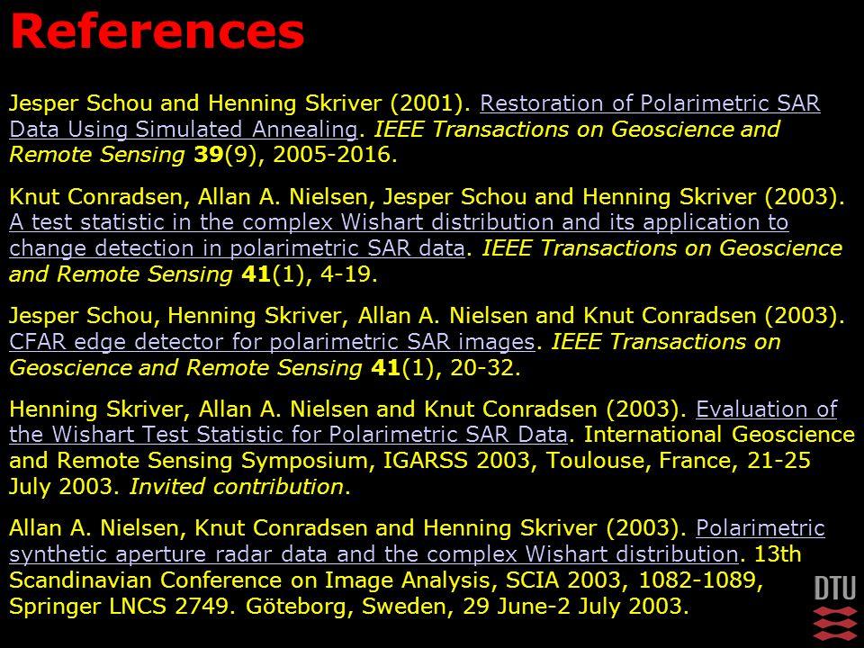 Jesper Schou and Henning Skriver (2001).