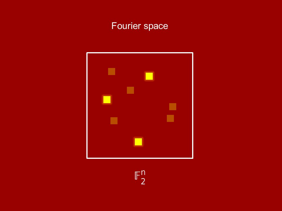 Fourier space