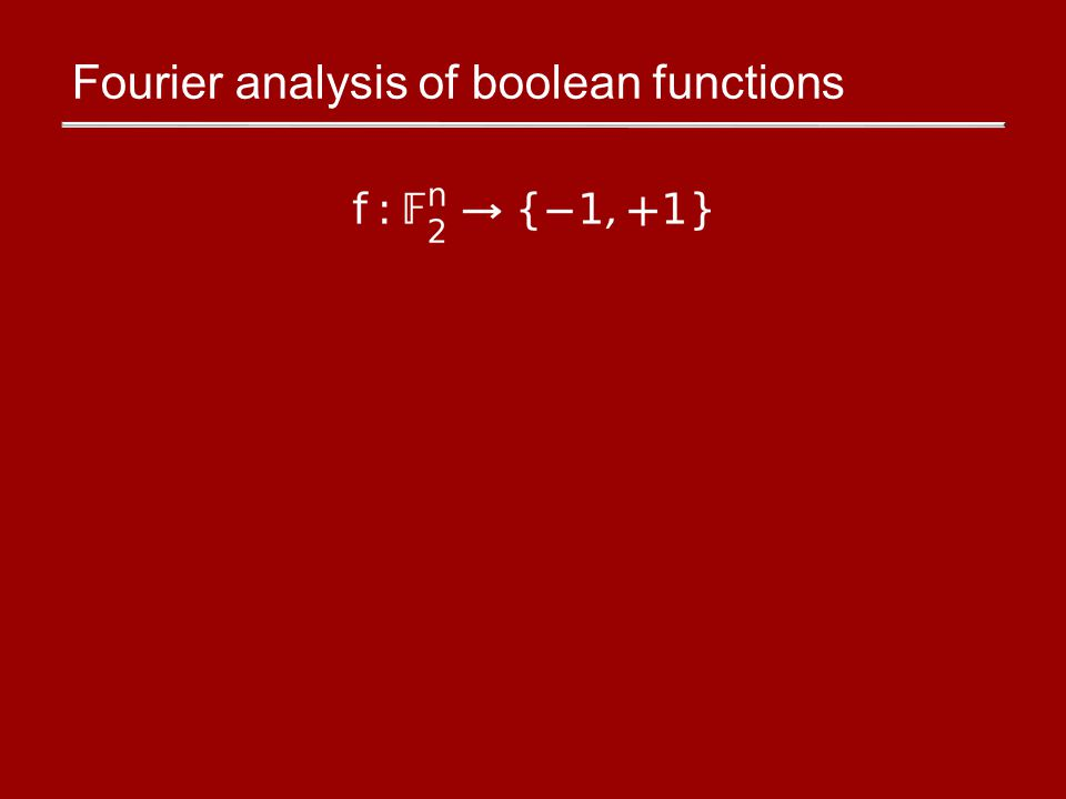 There are 2 n linear functions, Every uniquely expressible as a real #