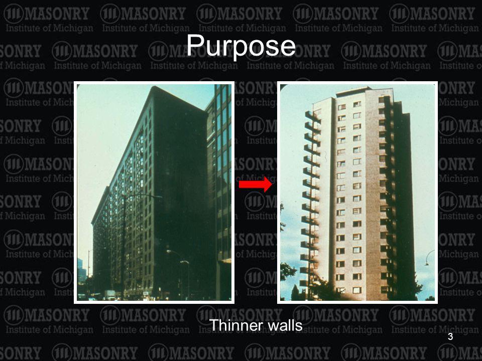 3 Purpose Thinner walls