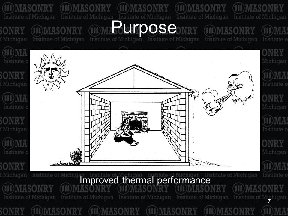 7 Purpose Improved thermal performance