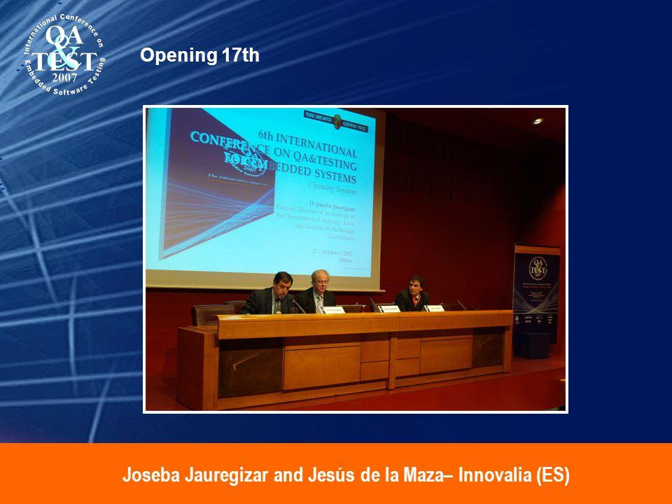 Joseba Jauregizar and Jesús de la Maza– Innovalia (ES) Opening 17th