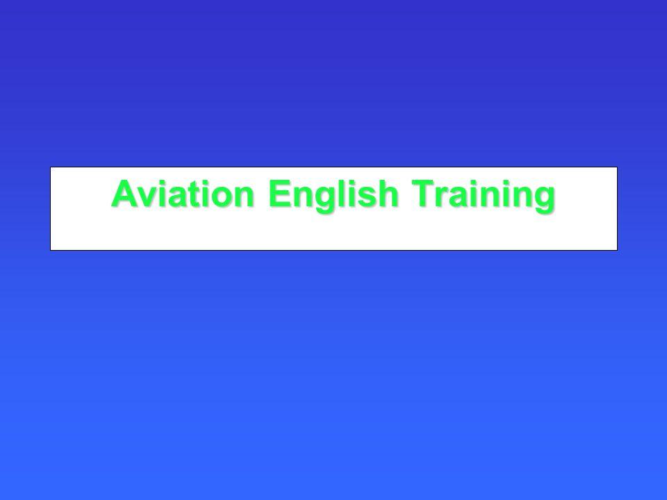Aviation English Training