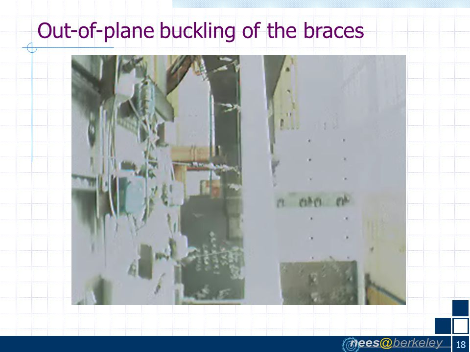 18 Out-of-plane buckling of the braces