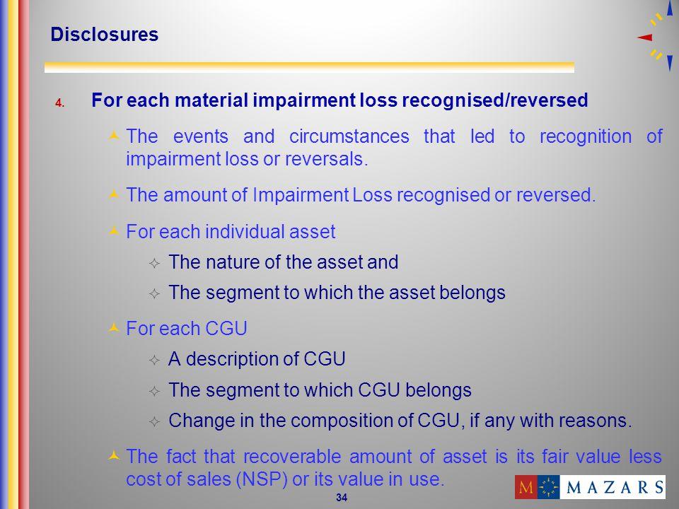 34 Disclosures 4.