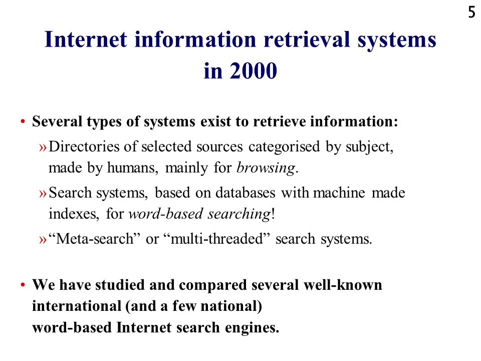 15 Internet search engines: fluctuations - definition A fluctuation appears when the result set of an observation - i.e.