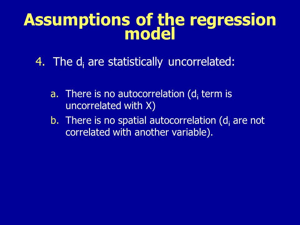 Testing =Q using the t test (Q 0) The test statistic to be calculated is If we are testing = 4, then