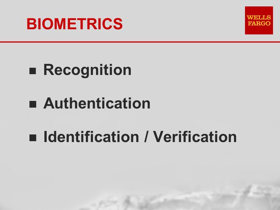 BIOMETRICS n Access Control Data Centers Safe Deposit Boxes Store Access Control