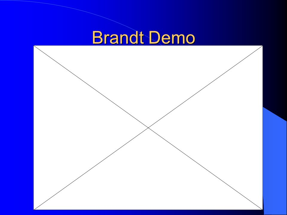 Brandt Demo