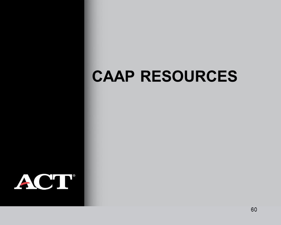 60 CAAP RESOURCES