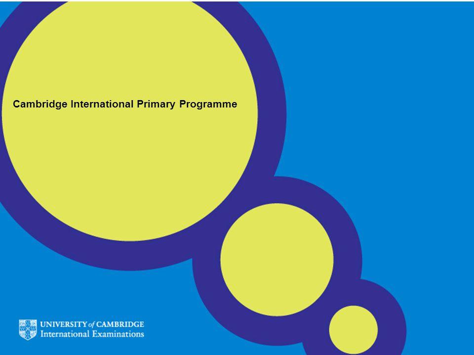 Cambridge International Primary Programme