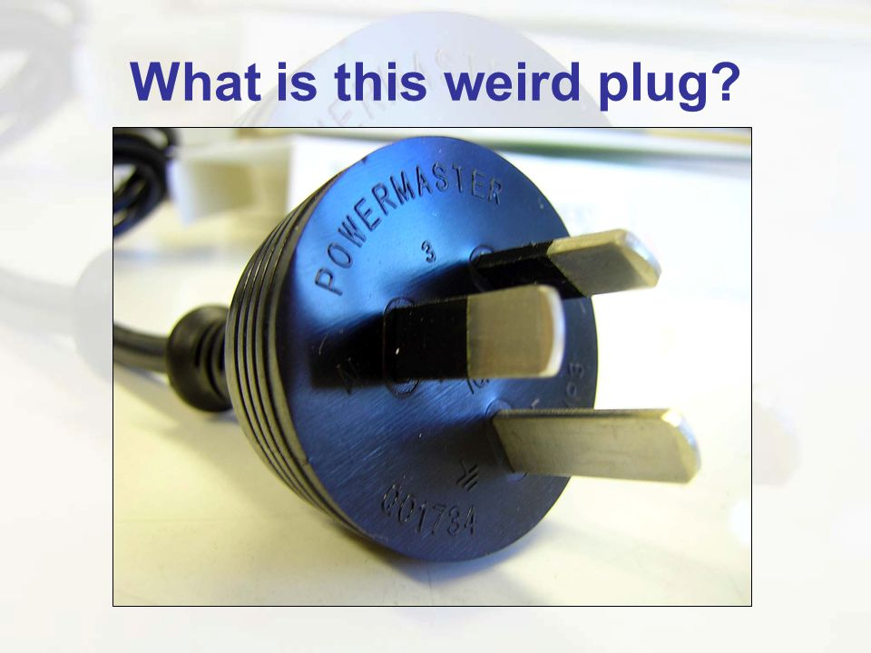 What is this weird plug
