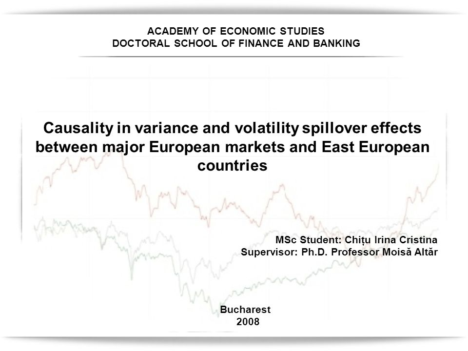 Introduction In this paper we examine the causality in variance and volatility spillovers between three developed equity markets (UK, France and Germany) and five selected East European equity markets (Poland, the Czech Republic, Hungary, Romania and Bulgaria) by applying the CCF testing procedure proposed by Cheung and Ng (1996) Cheung and Ng (1996) have implemented the cross-correlation testing procedure to study the causal relationships between the NIKKEI 225 and the S&P 500 stock price indices Inagaki (2007) studied the variance causality and spillovers between the British pound and the euro Wei et al.