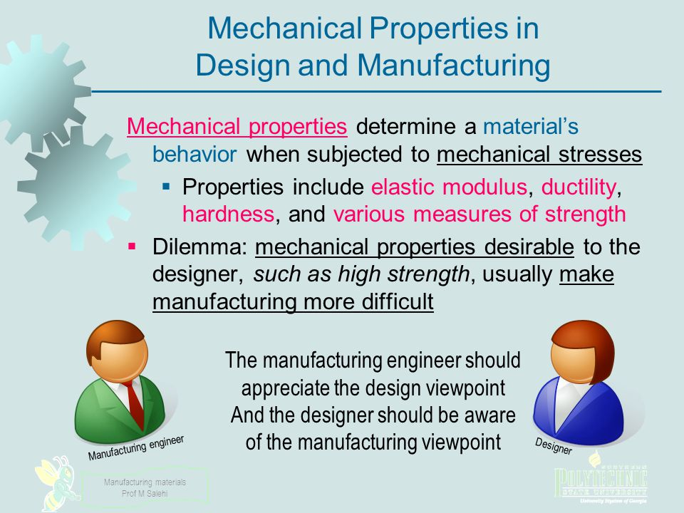Manufacturing materials Prof M Salehi Categories of Stress-Strain Relationship Perfectly elastic Elastic and perfectly plastic Elastic and strain hardening