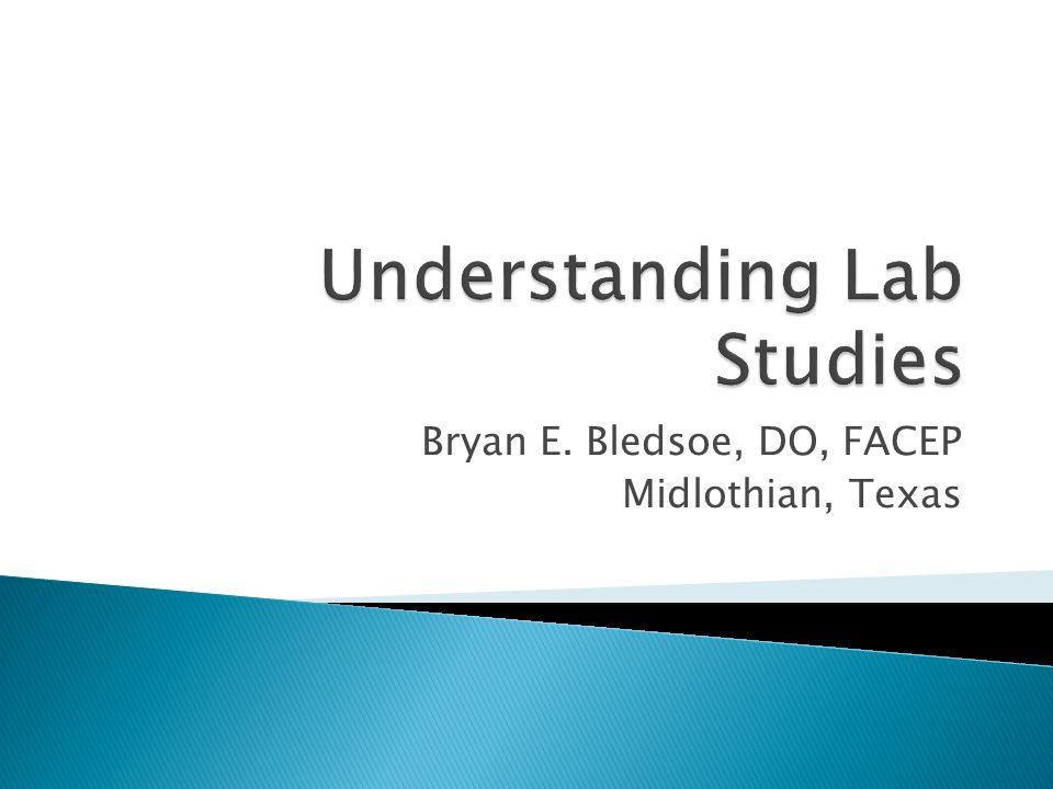 Bryan E. Bledsoe, DO, FACEP Midlothian, Texas
