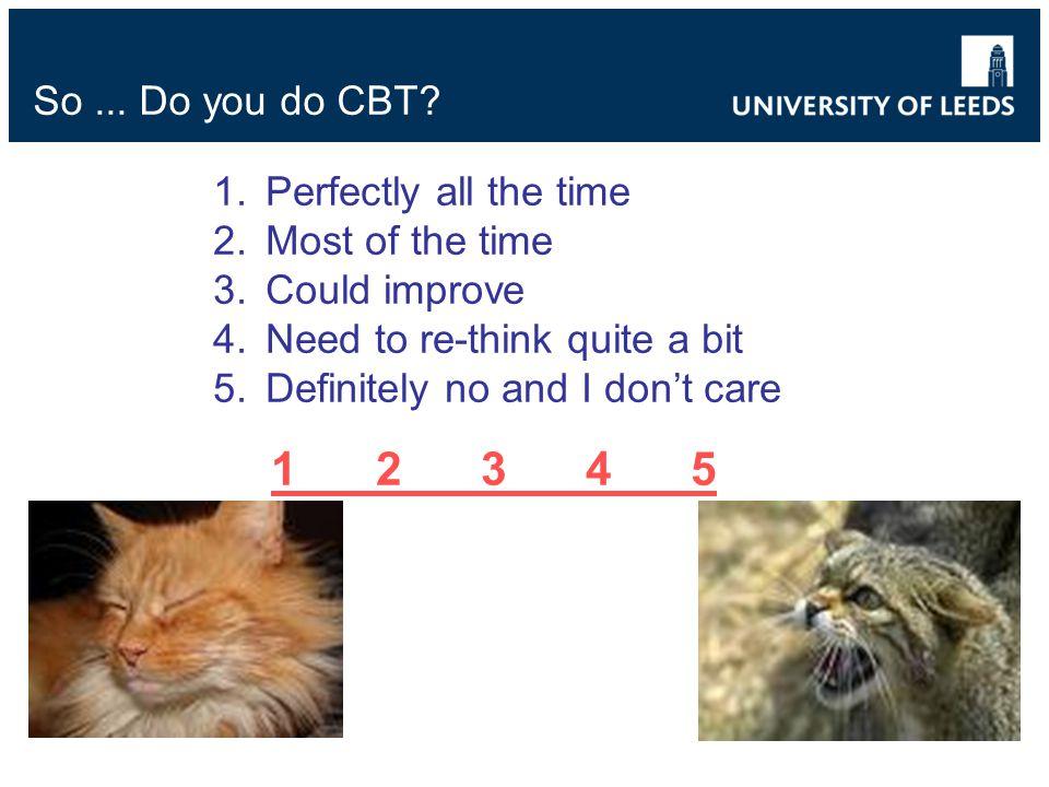 So... Do you do CBT.