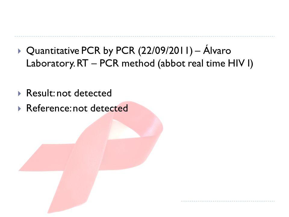 Quantitative PCR by PCR (22/09/2011) – Álvaro Laboratory.