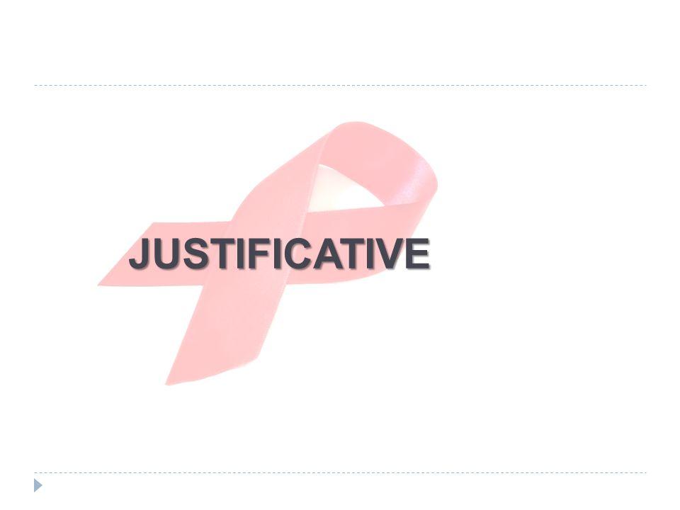 JUSTIFICATIVE JUSTIFICATIVE