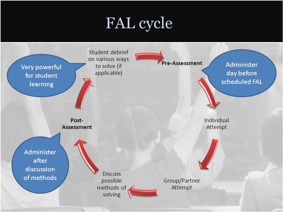 FAL Prezi Walkthrough -Created by Seth Hunter, KDE Math Specialist & President KCTM