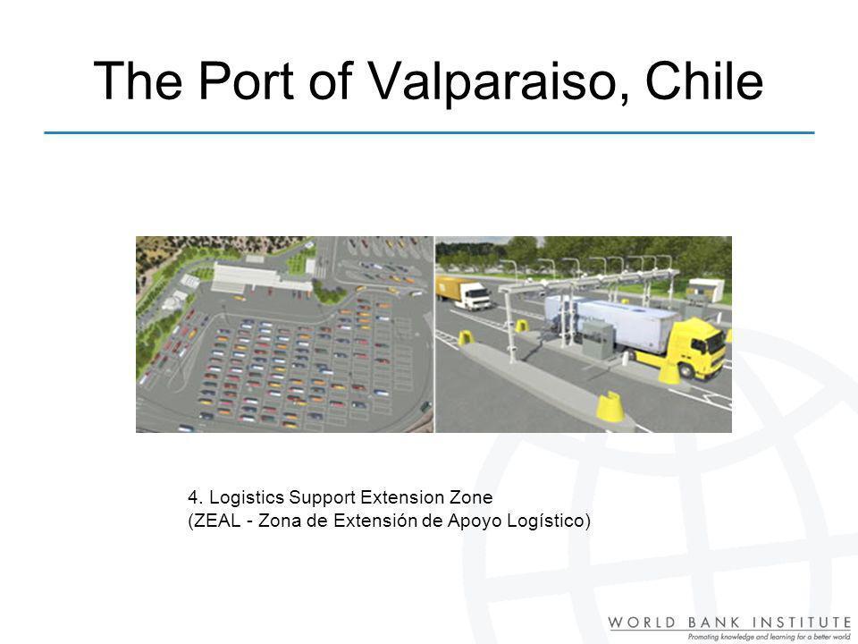 4. Logistics Support Extension Zone (ZEAL - Zona de Extensión de Apoyo Logístico) The Port of Valparaiso, Chile