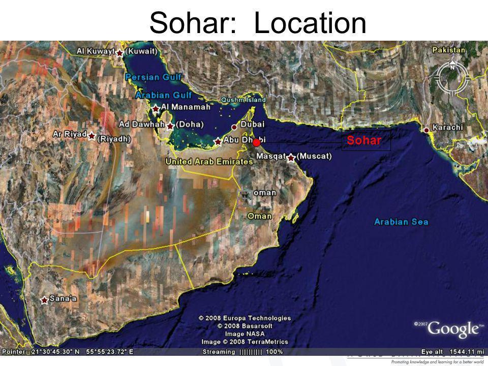 Sohar: Location Sohar