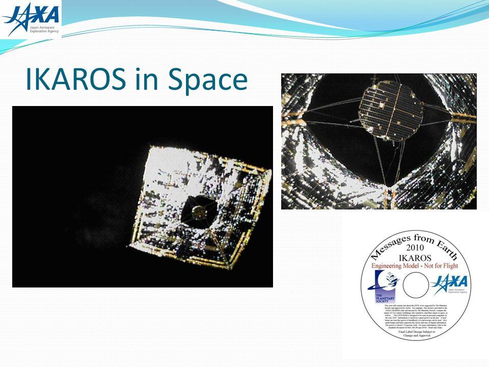 IKAROS in Space