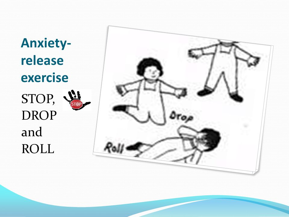 If you find yourself tensing and getting anxious during the test Relax; you are in control.