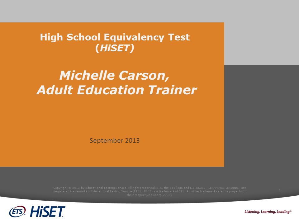 TEST DEVELOPMENT DESIGN & CONTENT Copyright © 2013 by Educational Testing Service.
