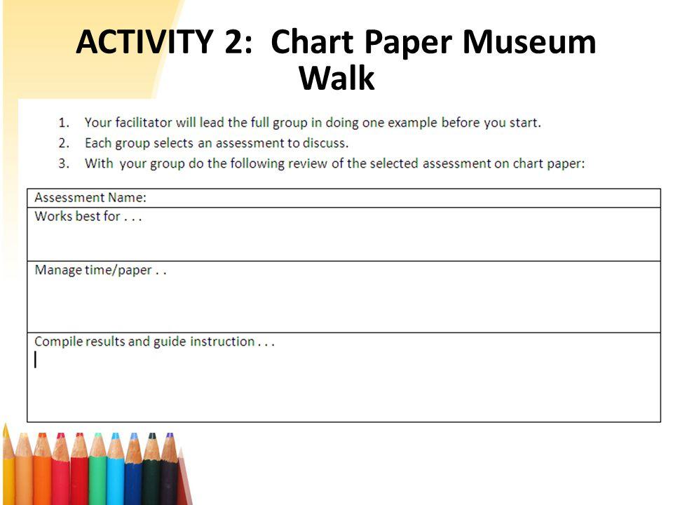 ACTIVITY 2: Chart Paper Museum Walk