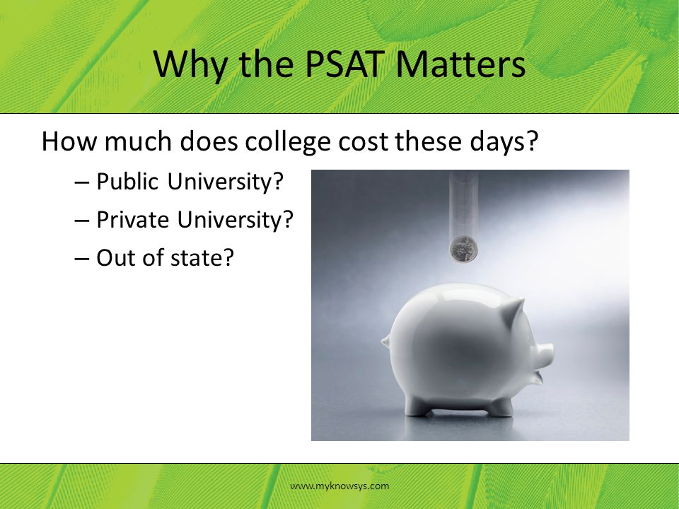 How much does college cost these days. – Public University.
