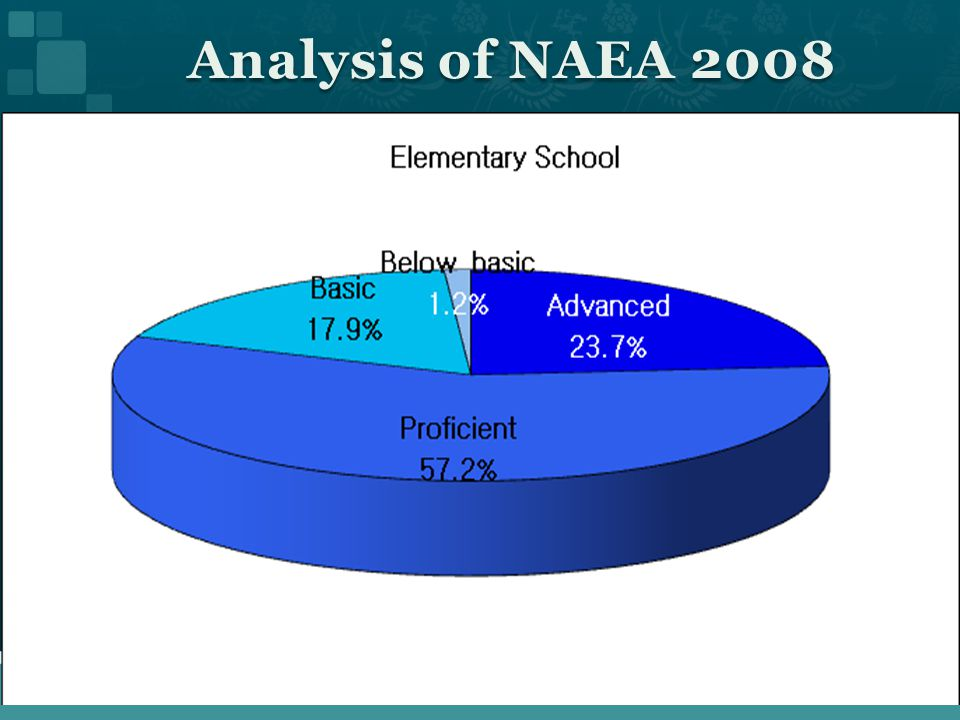 Analysis of NAEA 2008