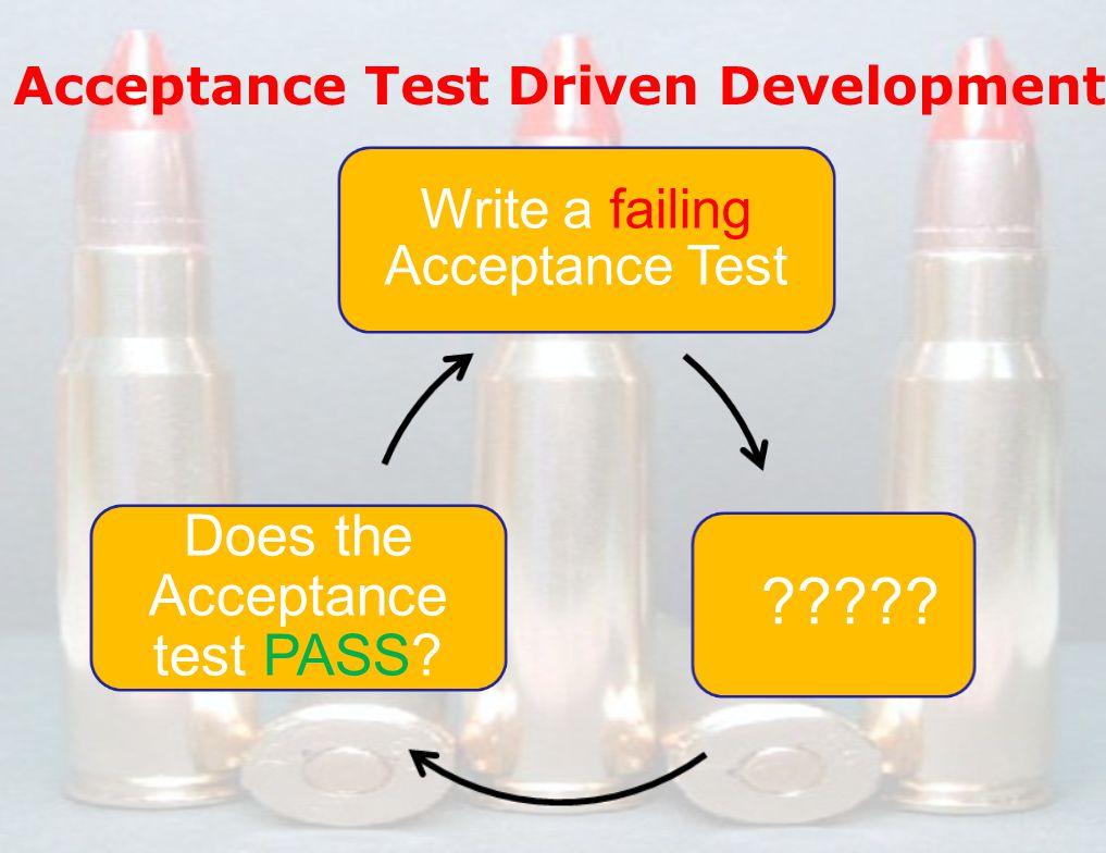 9 www.scrumi ndia.in 7 Dec 2012 Asheesh Mehdiratta / Kunal Saini ScrumIndia.In @amehdiratta @kunal8484 Write a failing Acceptance Test .