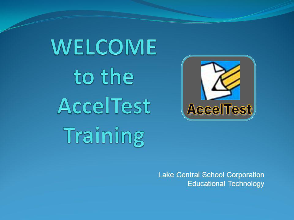 Lake Central School Corporation Educational Technology