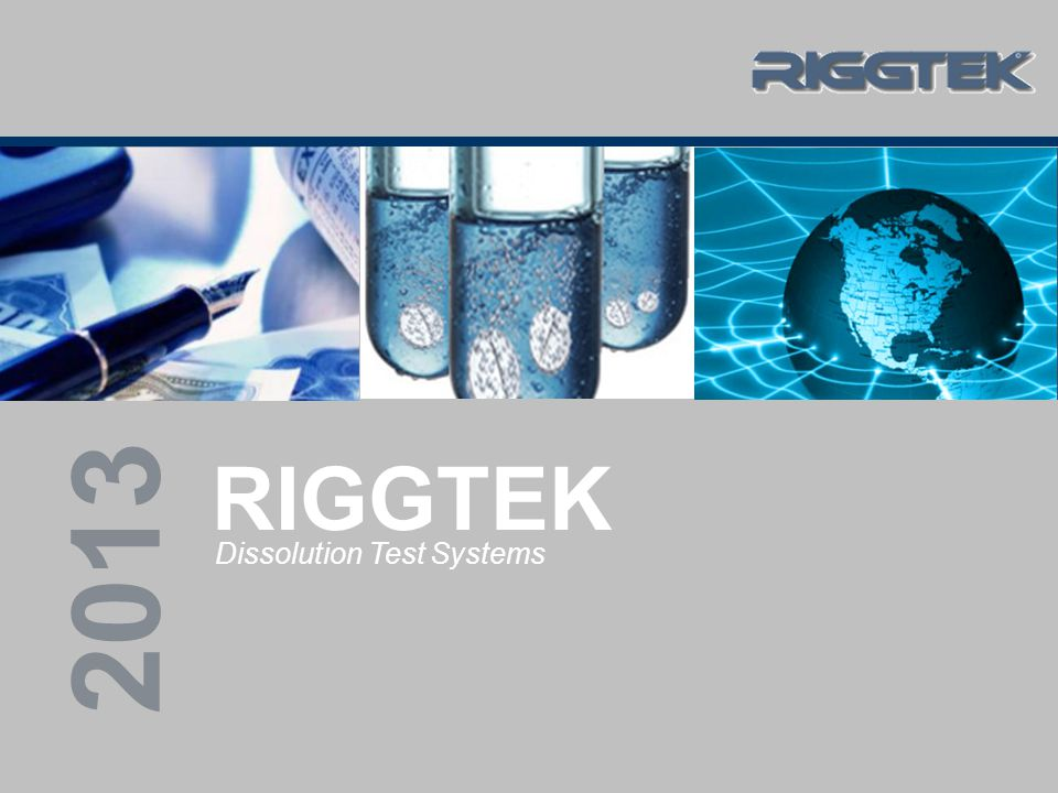 RIGGTEK – Dissolution Test Systems 11/2013 Company Presentation 12 DissoPrep X8 / X15 features (4) degassing:
